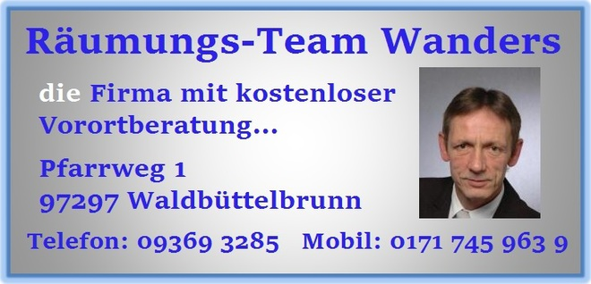 Wohnungsauflösung Würzburg