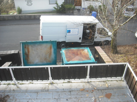 Wohnungsauflösung Entrümpelung Würzburg Container